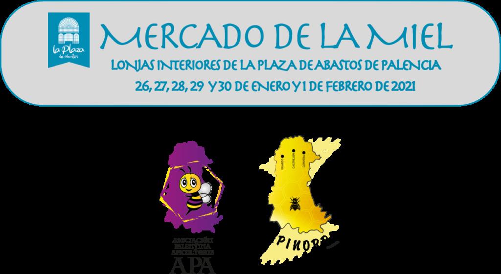 Mercado de la Miel de la Feria Apícola de Palencia